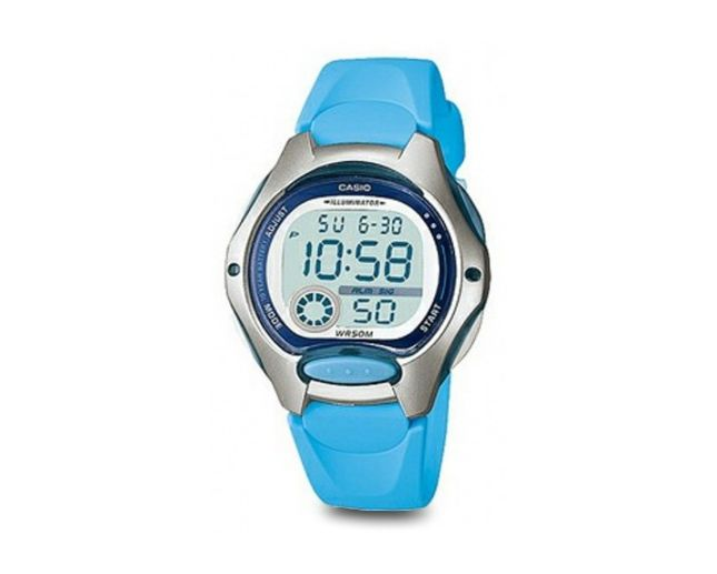 CASIO MID DIGITAL 50M WR DUAL TIME Watch LW200-2B