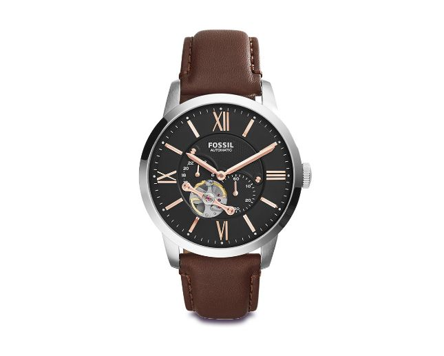 FOSSIL TOWNSMAN GRY MECH DL RS NUMER ME3061