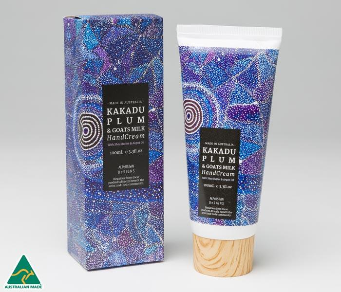Alperstein Handcream Kakadu Plum 100ml (3.3fl.oz) by artist Alma Granites