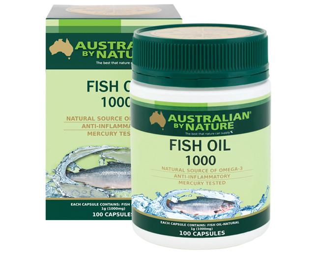 ABN OM3 FISH OIL 1000MG 100CAP