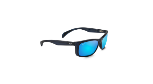 MAUI JIM PUHI TRANSLUCENT NAVY BLUE B785-08A