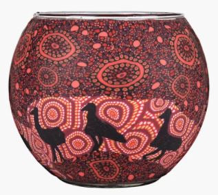 Koh Living Candle Holder Emu by Artist Kathleen Buzzacott