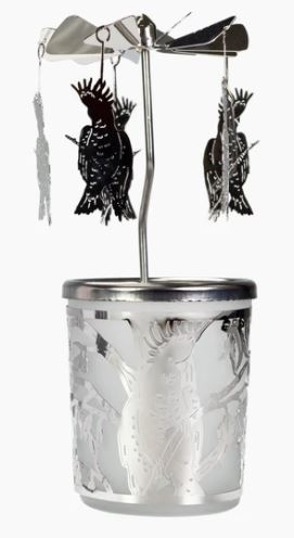 Koh Living Candle Holder Carousel Cockatoo