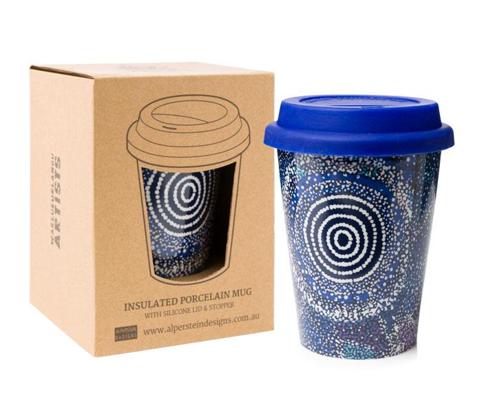 Alperstein Travel Mug Insulated by artist Alma Granites