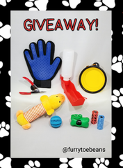 Dog Supplies Giveaway by toe beans