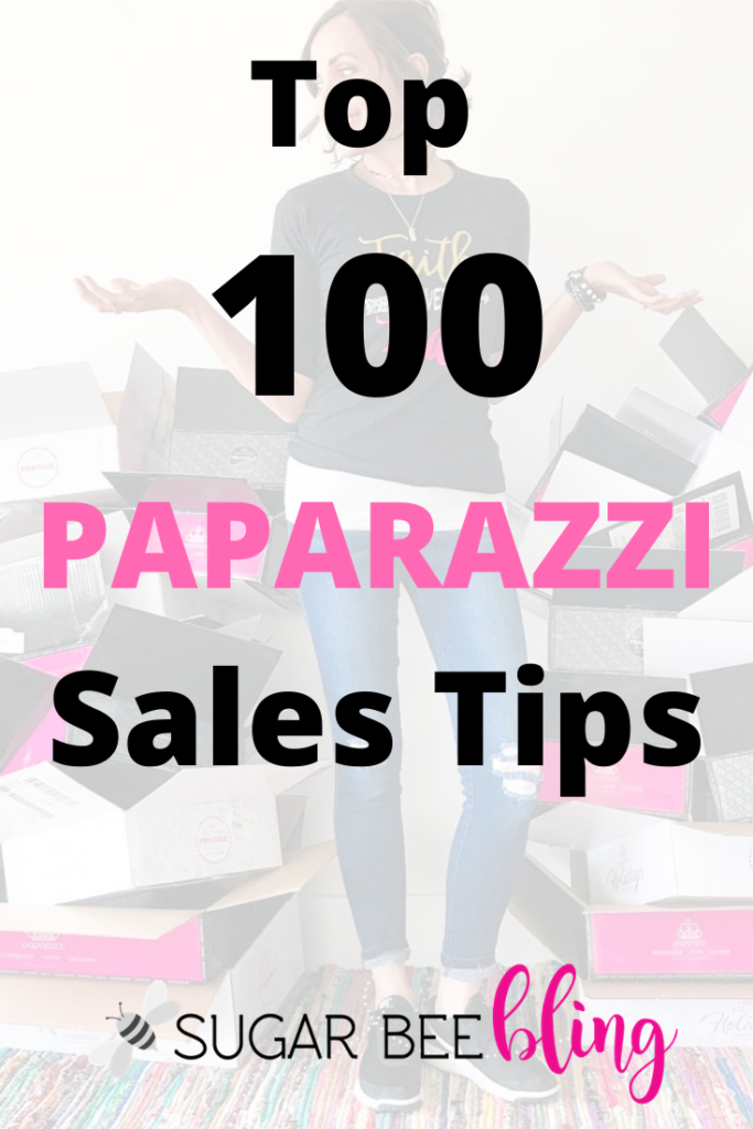 100 sales tips for paparazzi