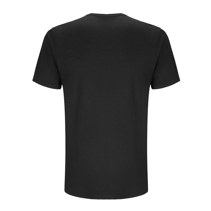 Merino Wool T-Shirt Black