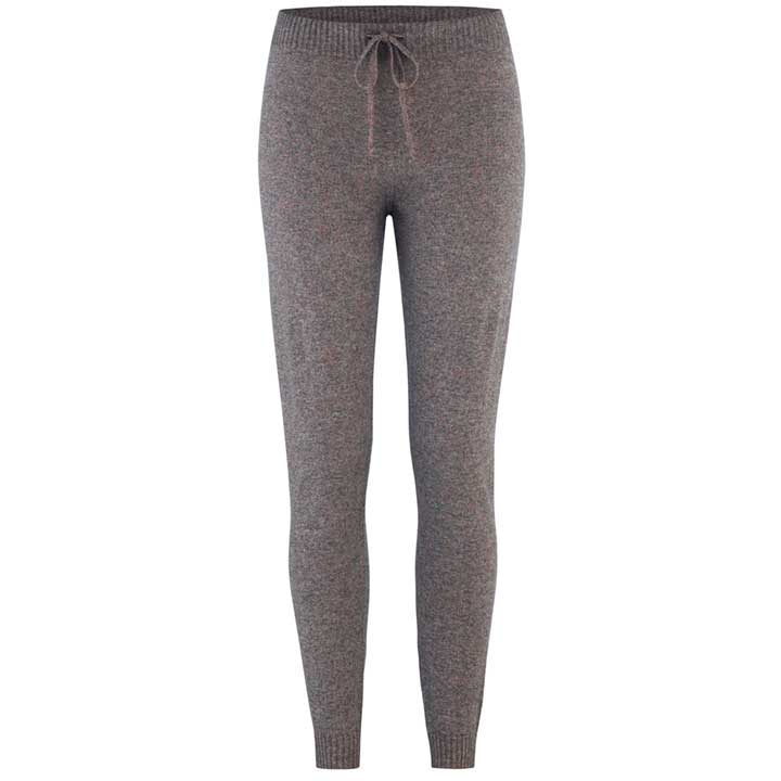 Merino Wool Pants Women Charcoal
