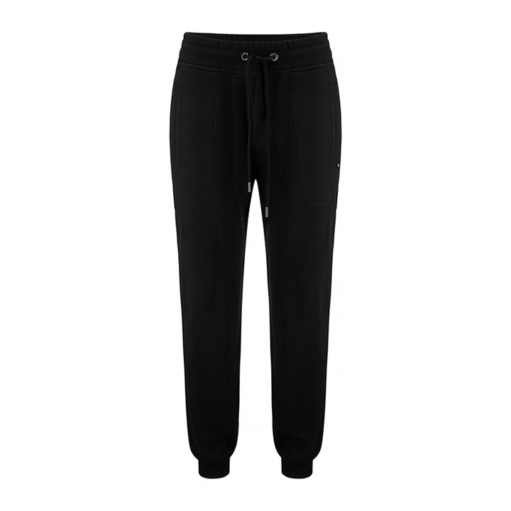 Merino Wool Pants Men Black