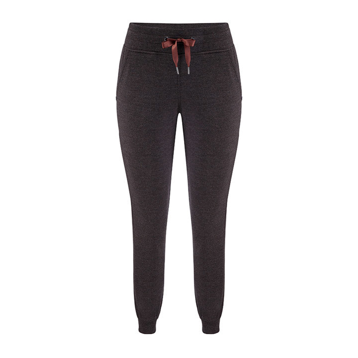 Merino Wool Pants Women Brown