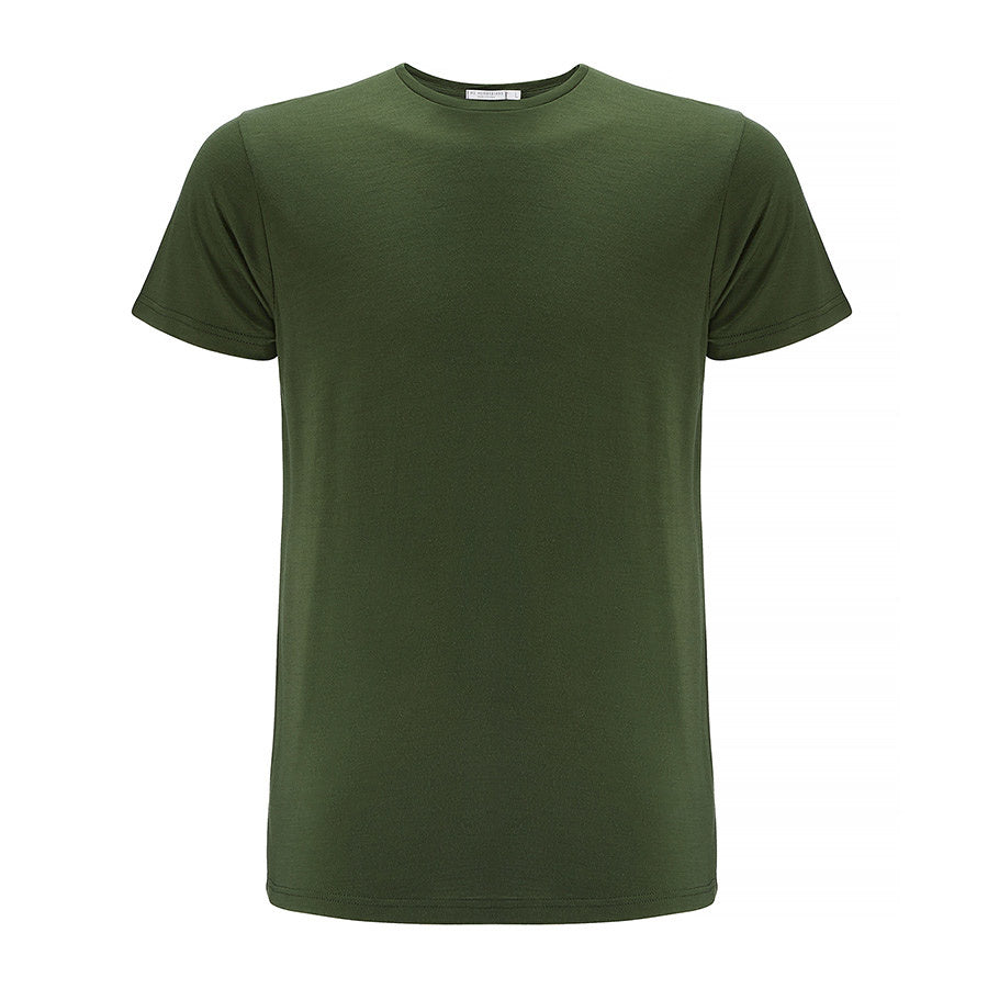 Merino Wool T-Shirt Green