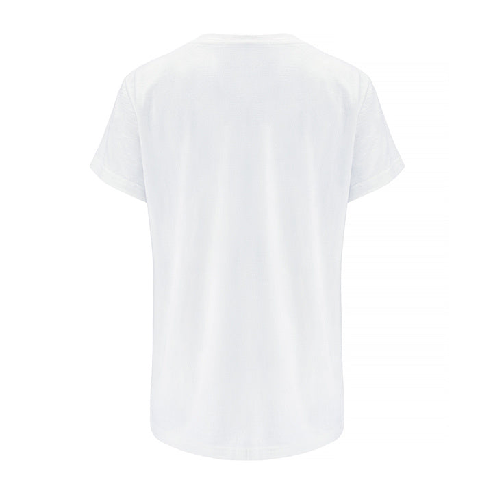 Merino Wool T-Shirt Women White