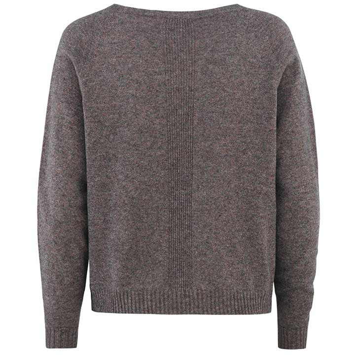 Merino Wool Pullover Women Charcoal