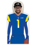 Rams Fan Cutout