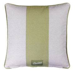 Sage and Stone Wide Stripe cushion