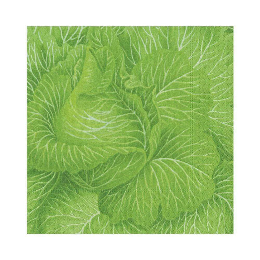 Paper Napkin - Green Cabbage - Aurina Ltd