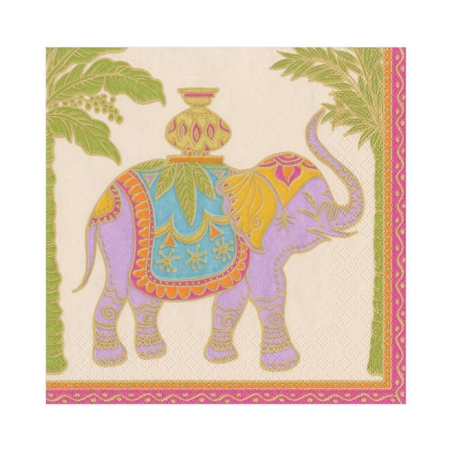 Paper Napkin - Royal Elephant - Aurina Ltd