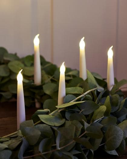 Christmas Tree Candle Lights - Set of 4 - Aurina Ltd