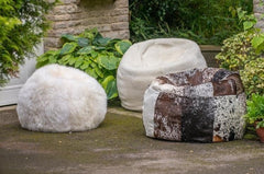 Giant Sheepskin Bean Bag