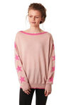 Starry Arm Crew Neck Jumper