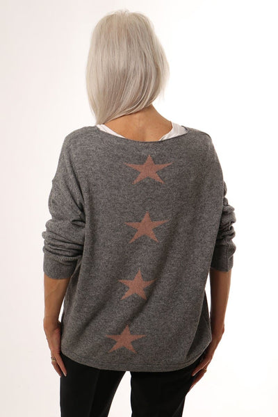 Back Stars Jumper