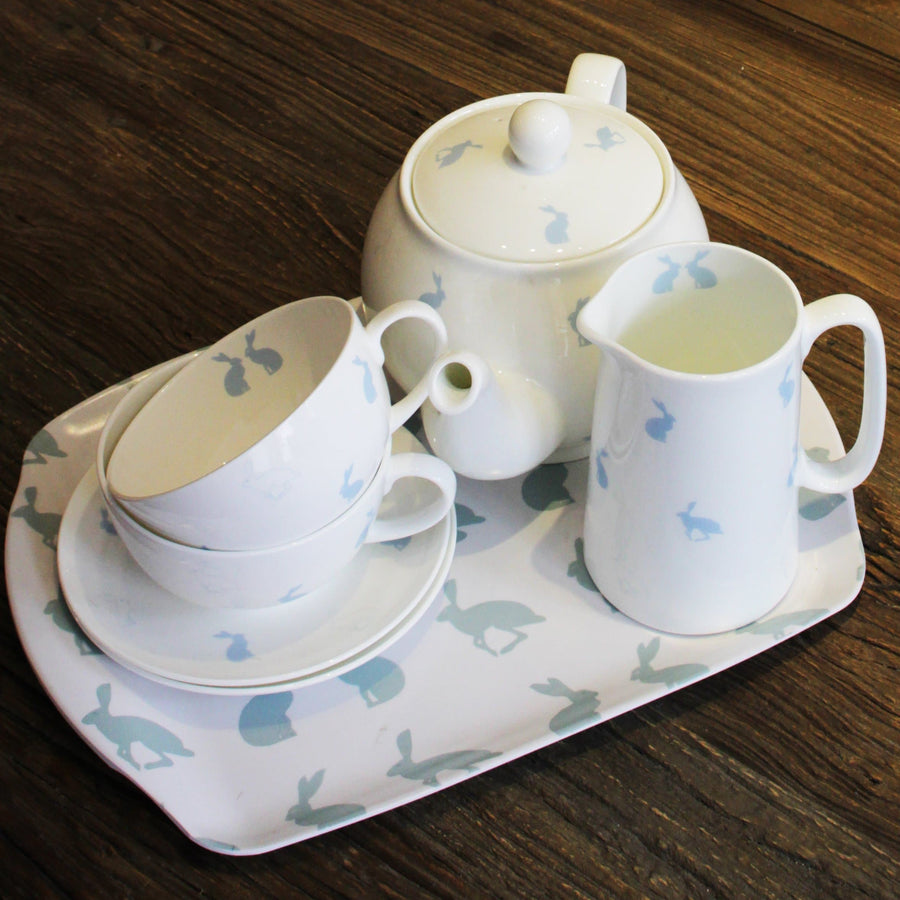 Hetty Hare Bone China Breakfast Cup and Saucer