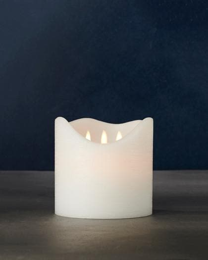 LED 3 Flame Candle - Aurina Ltd