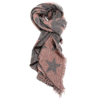 Reversable Star Scarf