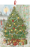 Candlelit Tree with Gifts Advent Calendar - Aurina Ltd