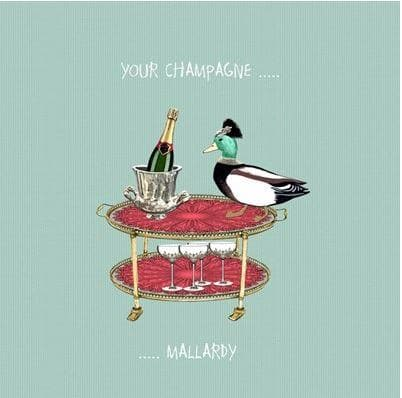 Your Champagne Card