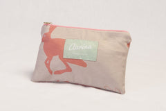 Hetty Hare Mini Cosmetic pouch
