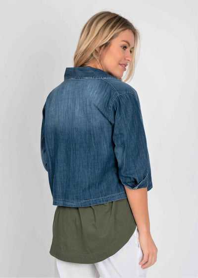 Stiffkey Denim Jacket - Aurina Ltd
