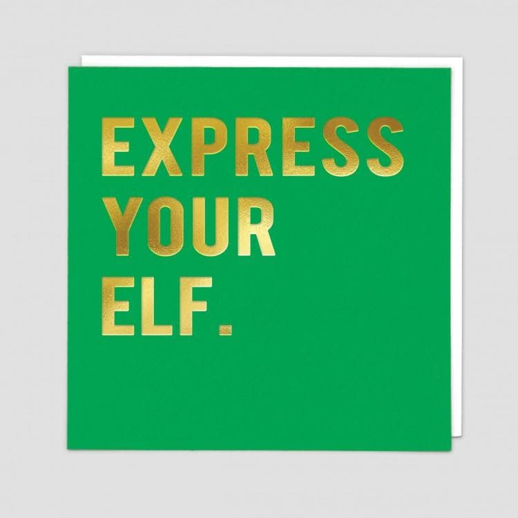 Express Your Elf Card - Aurina Ltd