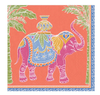 Paper Napkin - Orange Royal Elephant -  - aurina-ltd-2