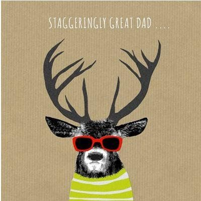 Staggeringly Great Dad Card - Aurina Ltd