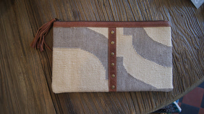 Dhurrie Clutch - Aurina Ltd