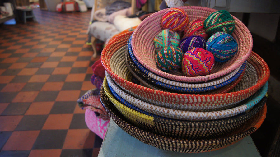 Large African Woven Baskets - Aurina Ltd