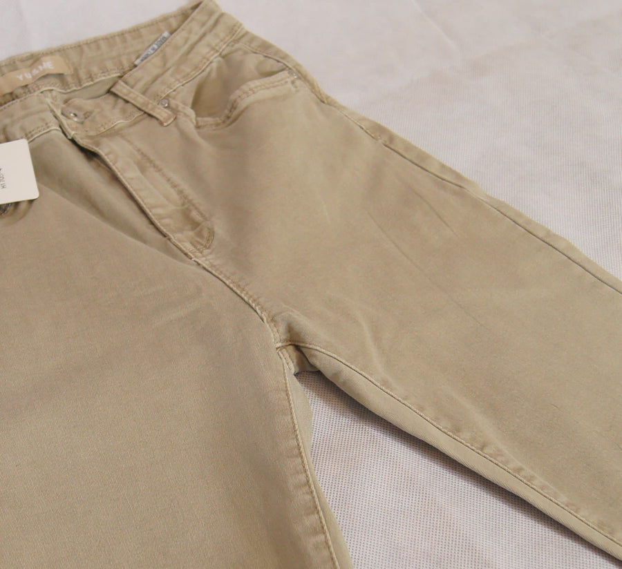 Khaki Grey Jean - Aurina Ltd