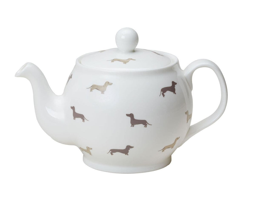 Dachsie Bone China Teapot