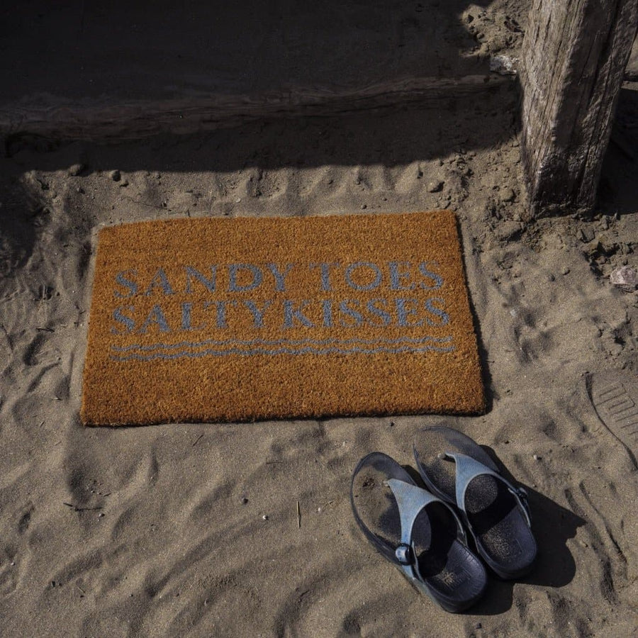 Sandy Salty Door Mat - Aurina Ltd