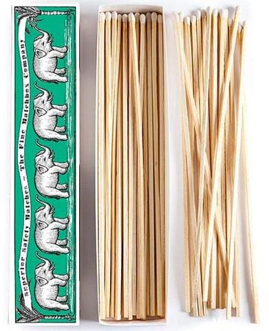 Elephants Extra Long Matches - Matches - aurina-ltd-2
