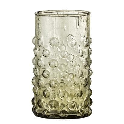 Tall Recycled Drinking Glass - Aurina Ltd