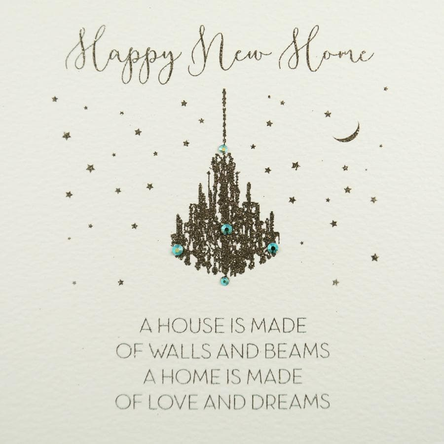 Happy New Home Card - Aurina Ltd