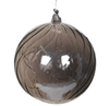 Smoked Glass Lit Bauble