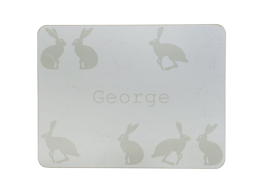 Hetty Hare Personalised Placemat - Aurina Ltd