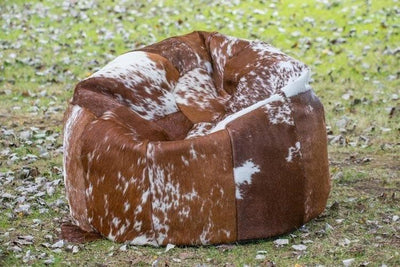 Giant Cow Hide Bean Bag - Bean Bag - aurina-ltd-2