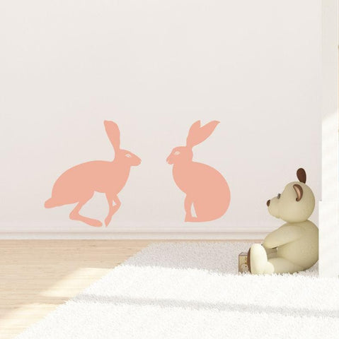 Hetty Hare Wall Sticker