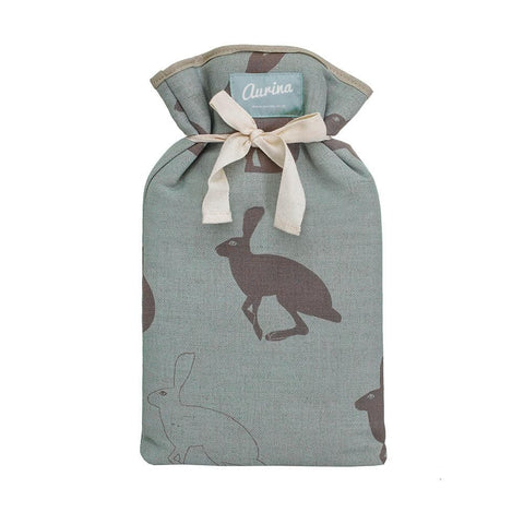 Hetty Hare Linen Hot Water Bottle
