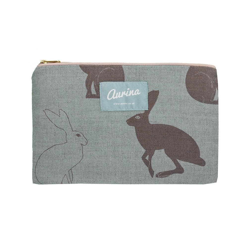 Large Hetty Hare Cosmetic Bag