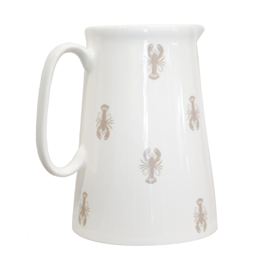 Large Lobster Bone China Jug